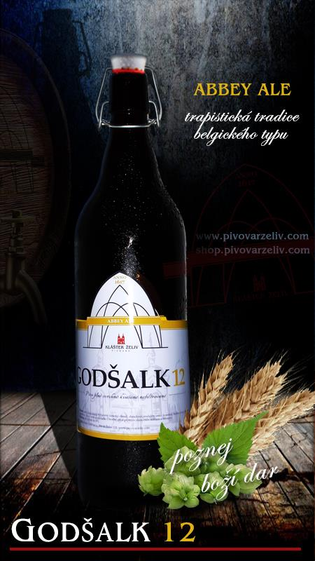 Godšalk 12°, ABBEY ALE  (1L)