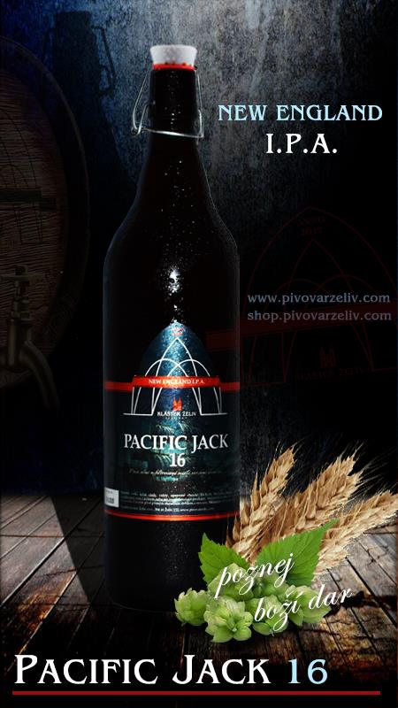 Pacific Jack 16°, NEW ENGLAND I.P.A. ( 1L )