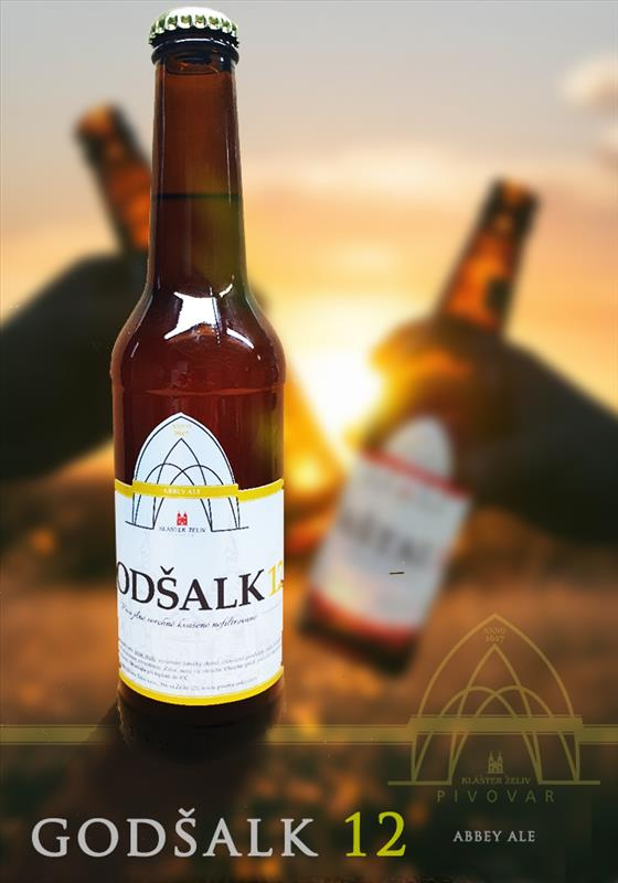 Godšalk 12°, ABBEY ALE  (0.33 l)