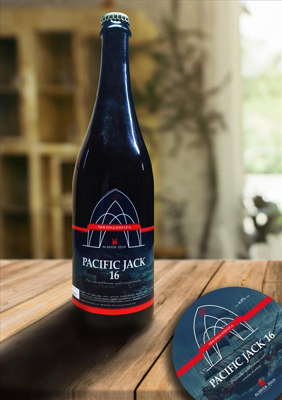 Pacific Jack 16°, NEW ENGLAND I.P.A. ( 0.75 l )